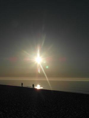 Codziennie celebrowany jest inny zachód słońca w Ustce.