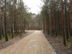 Osoby wynajmujące noclegi w okolicach Osiedla Poetów w Ustce będą mogły korzystać z nowej ścieżki pieszo- rowerowej.
