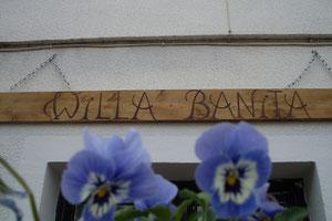 """Kwatery, pokoje gościnne, apartamenty, noclegi nad morzem w """"Villa Banita""""."""