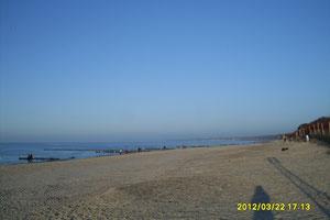 Plaża w Ustce.