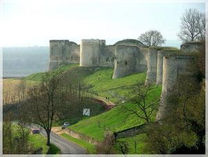 Le château médiéval de Coucy