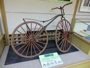 ▲ミショー型自転車