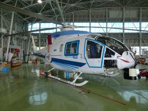 ヘリコプタの実験機。飛んでみたかった