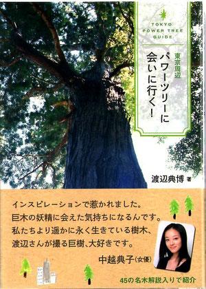 はなまるマーケットで「巨樹・巨木」を紹介してくれた中越典子さんの  コメント入り