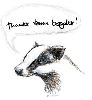 Thanks team badger! 2012 - Chiara Tomaini