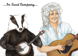 In Good Company (for Brian and the Badger Trust members) 2012 - Chiara Tomaini