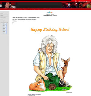 Happy Birthday Brian 2012 - Chiara Tomaini