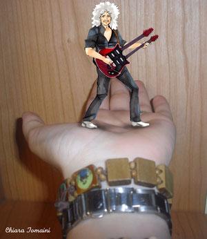 Brian on my hand 2012 - Chiara Tomaini