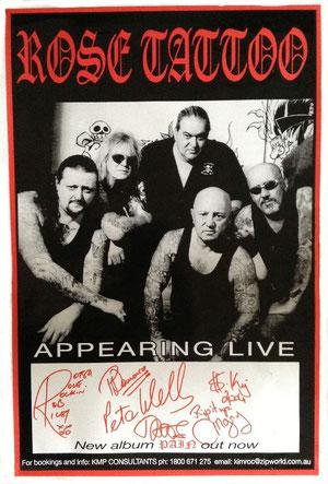 Pain Tour Promo Poster