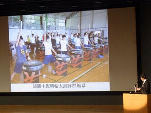 古タイヤを使った「復興輪太鼓」の響きは各地で感動を呼び、ドイツや韓国での海外演奏旅行も実施