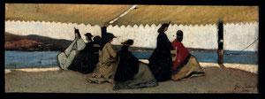 La rotonda di Palmieri, di Giovanni Fattori