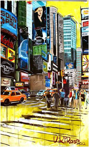 New York 2, Acryl 100cm x 160cm