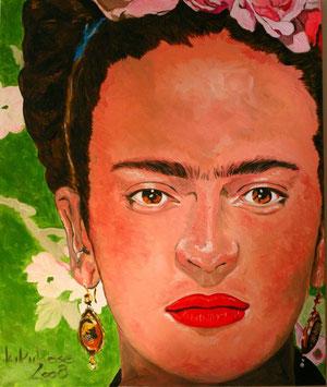 Frida Öl auf Maltuch 100 cm x 120 cm