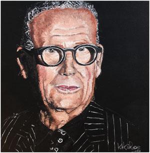 Sr. Pepe Cabrera, 120 x 120 cm in oil