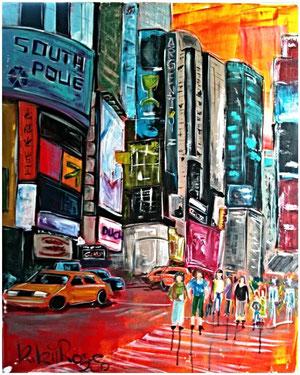 NY Acryl 80cm x 100cm