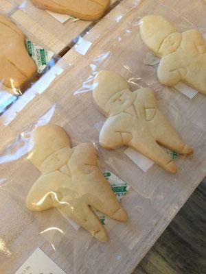 Khanamさんの人形クッキー