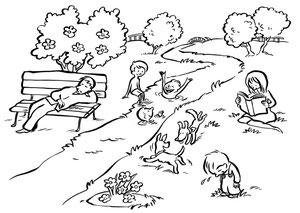 Schulbuchillustration