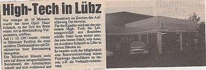 Bau der Direktannahme/Eröffnung 11.10.1991