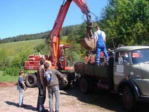 2007 Schrottsammlung