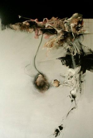 Acrylique/pastel sur toile 130cmx197cm