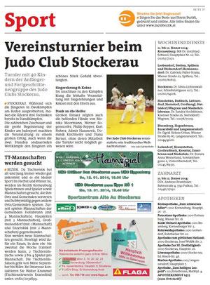 09.01.2014 Bezirksblätter Niederösterreich