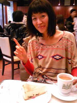 京都にてお茶する