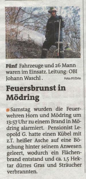 Bezirkblätter 14./15. März 2012