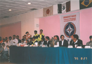 メキシコ支部開催の大会会場の様子