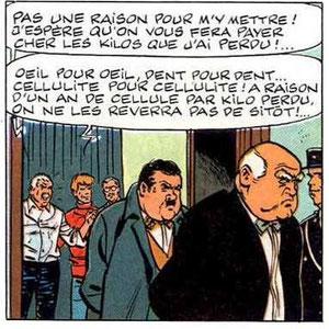 """""""Cauchemar pour Ric Hochet"""", page 56 case8"""