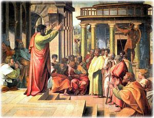 Paulus auf dem Areopag