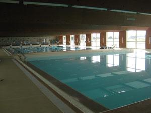 deux bassins dont un de 25 mètres