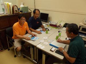 上條教授(左)と西田准教授(右)
