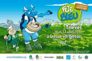 Fête du Bleu 10 et 11 aout 2013 - Gresse en Vercors