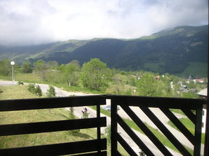 Gresse en Vercors - Vue du balcon