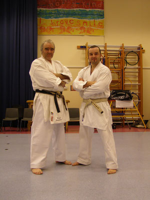 Sensei Derek Stockham and Sensei Matt Stockham