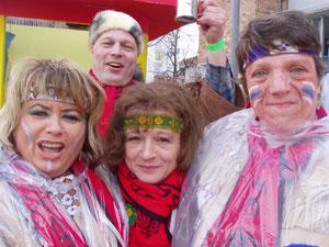 Gerti,Michael,Edith,Hilde sind bereit