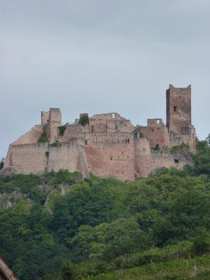chateau St-Ulrich à Ribeauvillé