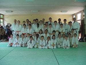 Vue de groupe - Judo