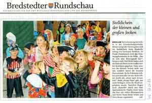 Bericht in den Husumer Nachrichten am 12.02.2013