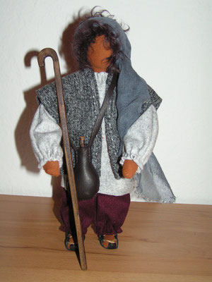 Josefsstab o. Hirtenstab 26cm für Schwarzenberger Krippenfigur