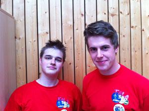 Christian und Alex - unsere FSJ'ler 2010/11