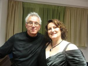 Gemeinsam mit  Dirigent Martin Sieghart