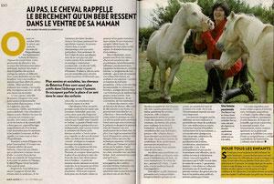 Paris Match Béatrice Frère