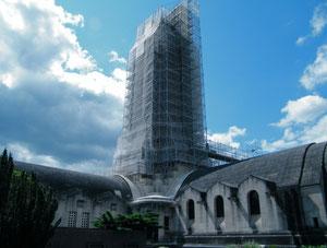 Beinhaus während der Renovierungsarbeiten 2011