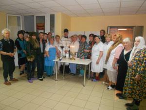 Молебен о здравии в Центральной районной больнице