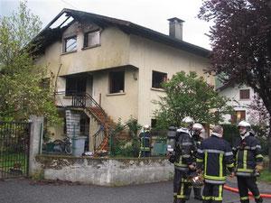 feu d'habitation (73) crédit photo: Dauphiné libéré