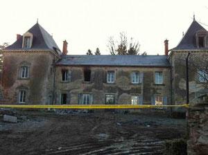 """Feu d'habitation (42) Crédit Photo: """"Le Progrès"""""""