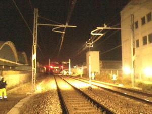 Scenario incidente ferroviario: stazione Trezzano s/n