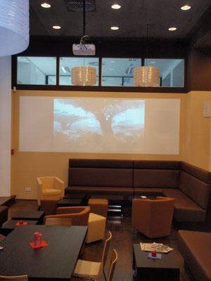 HDTV Bildübertragung Loungebereich