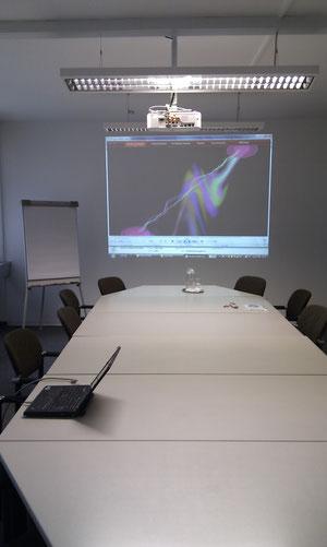 Konferenzraumprojektion
